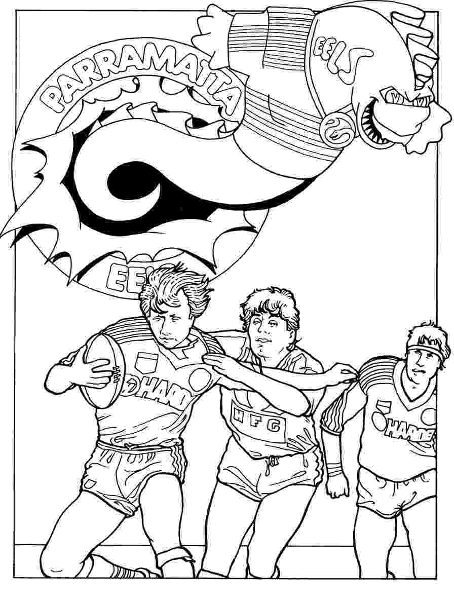 nrl coloring pages nrl teams pages coloring pages nrl pages coloring