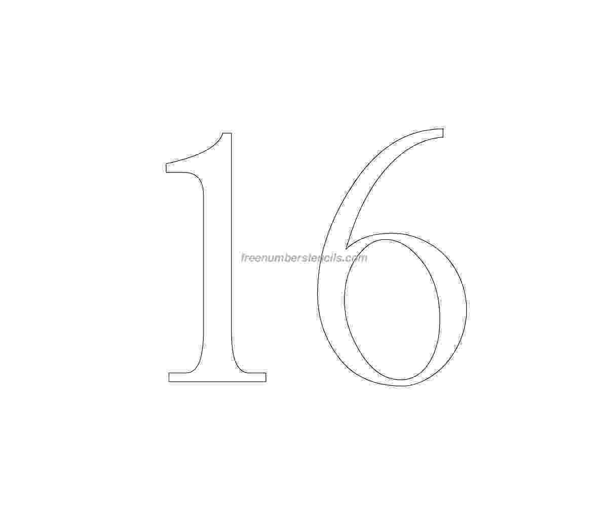 number 16 template number 16 template pictures to pin on pinterest pinsdaddy template number 16