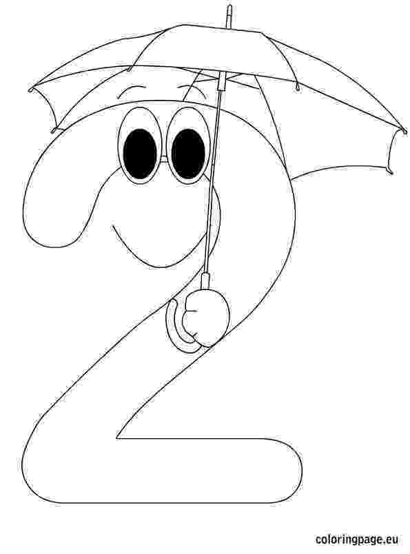 number 2 coloring sheet number 2 coloring page getcoloringpagescom sheet 2 coloring number