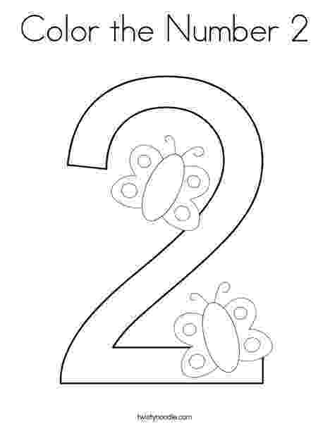 number 2 coloring sheet number coloring pages free download best number coloring 2 coloring sheet number