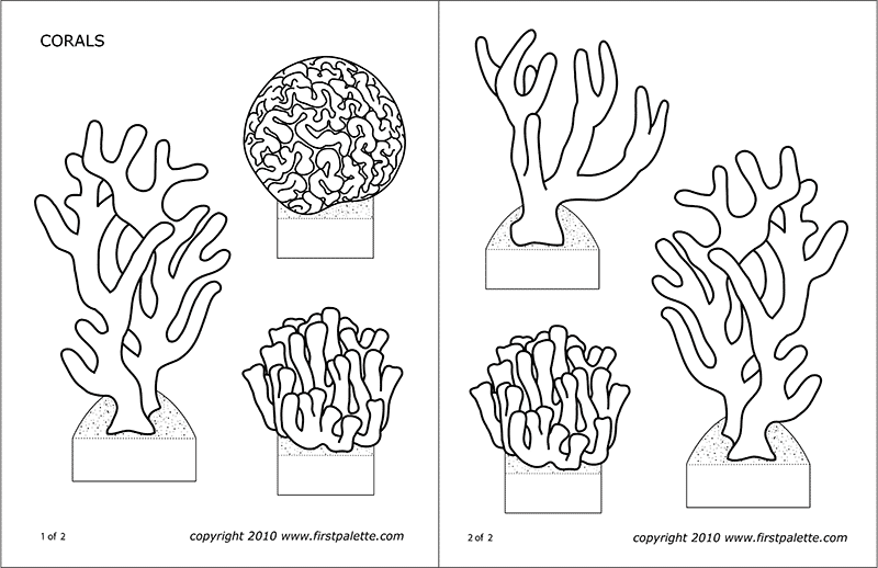ocean plants coloring pages free coloring pages of sea plants pages coloring ocean plants