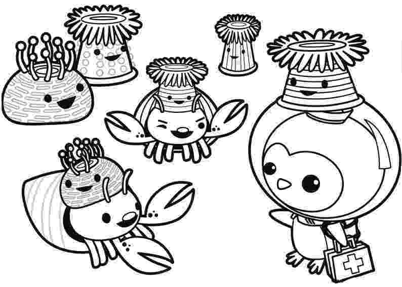 octonauts colouring free printable octonauts coloring pages colouring octonauts 1 2