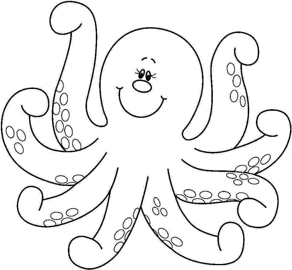 octopus coloring page preschool octopus coloring pages preschool and kindergarten coloring octopus preschool page