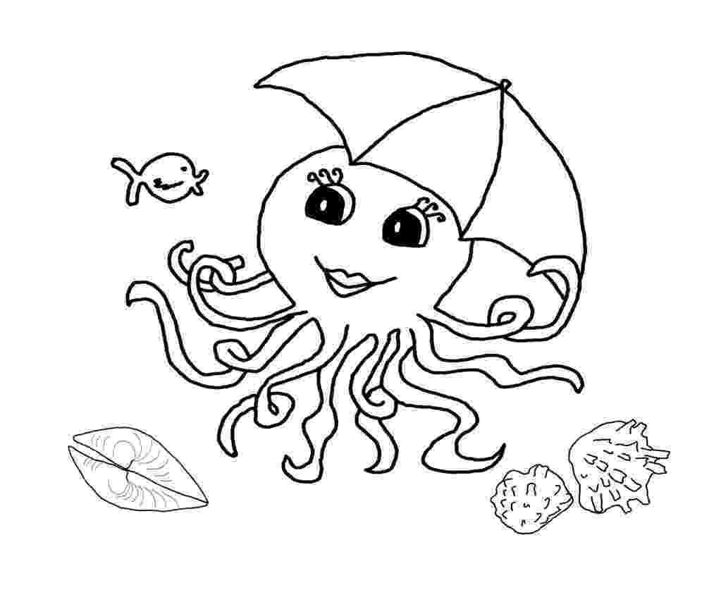 octopus coloring page preschool octopus coloring pages preschool and kindergarten page coloring octopus preschool