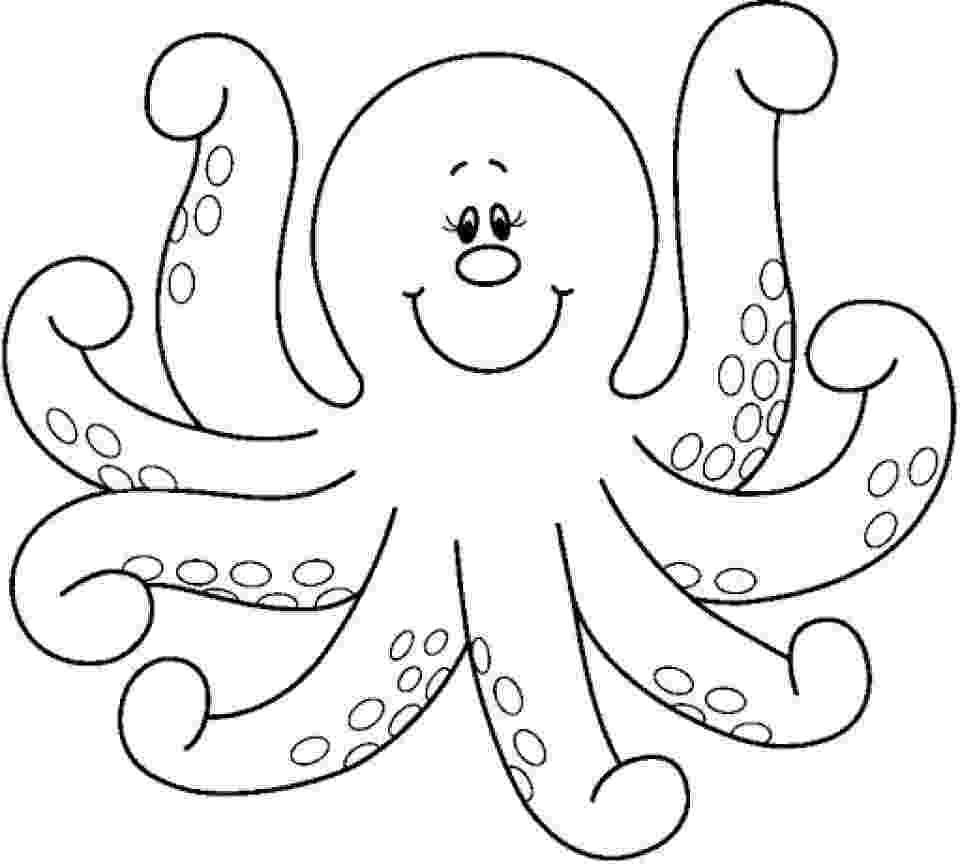 octopus coloring page preschool octopus coloring pages preschool and kindergarten preschool coloring octopus page