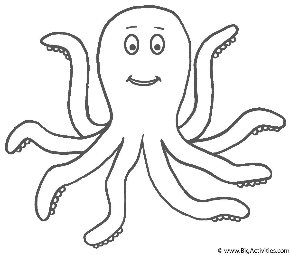 octopus coloring sheet dr octopus coloring pages printable coloring home sheet octopus coloring