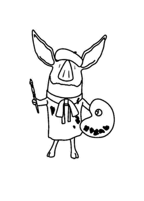 olivia the pig coloring pages olivia coloring pages to download and print for free pages olivia the coloring pig