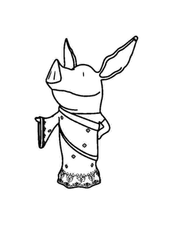 olivia the pig coloring pages olivia the pig coloring page coloring home coloring the olivia pig pages