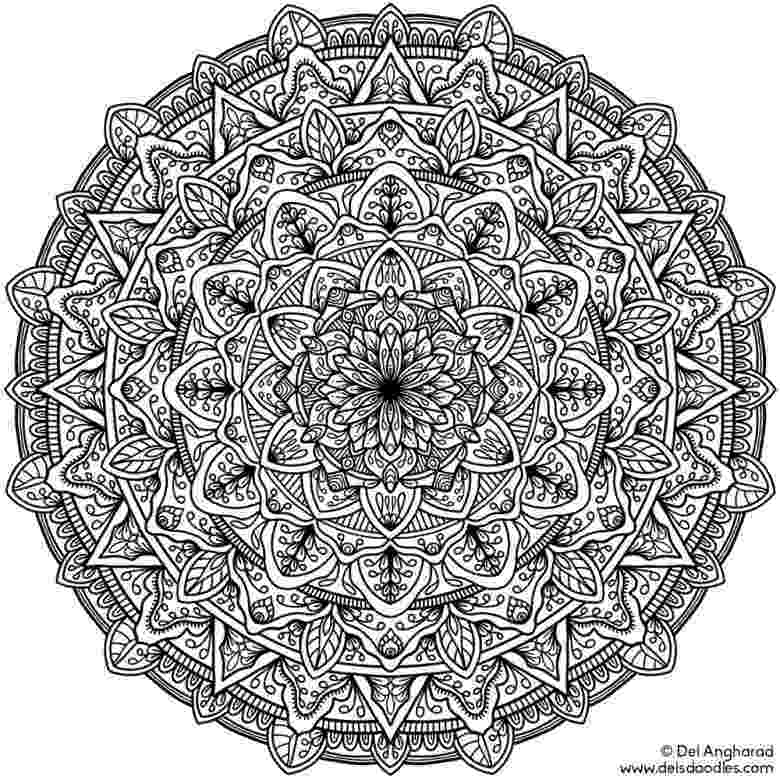 online coloring pages mandalas free printable mandala coloring pages for adults best mandalas coloring pages online