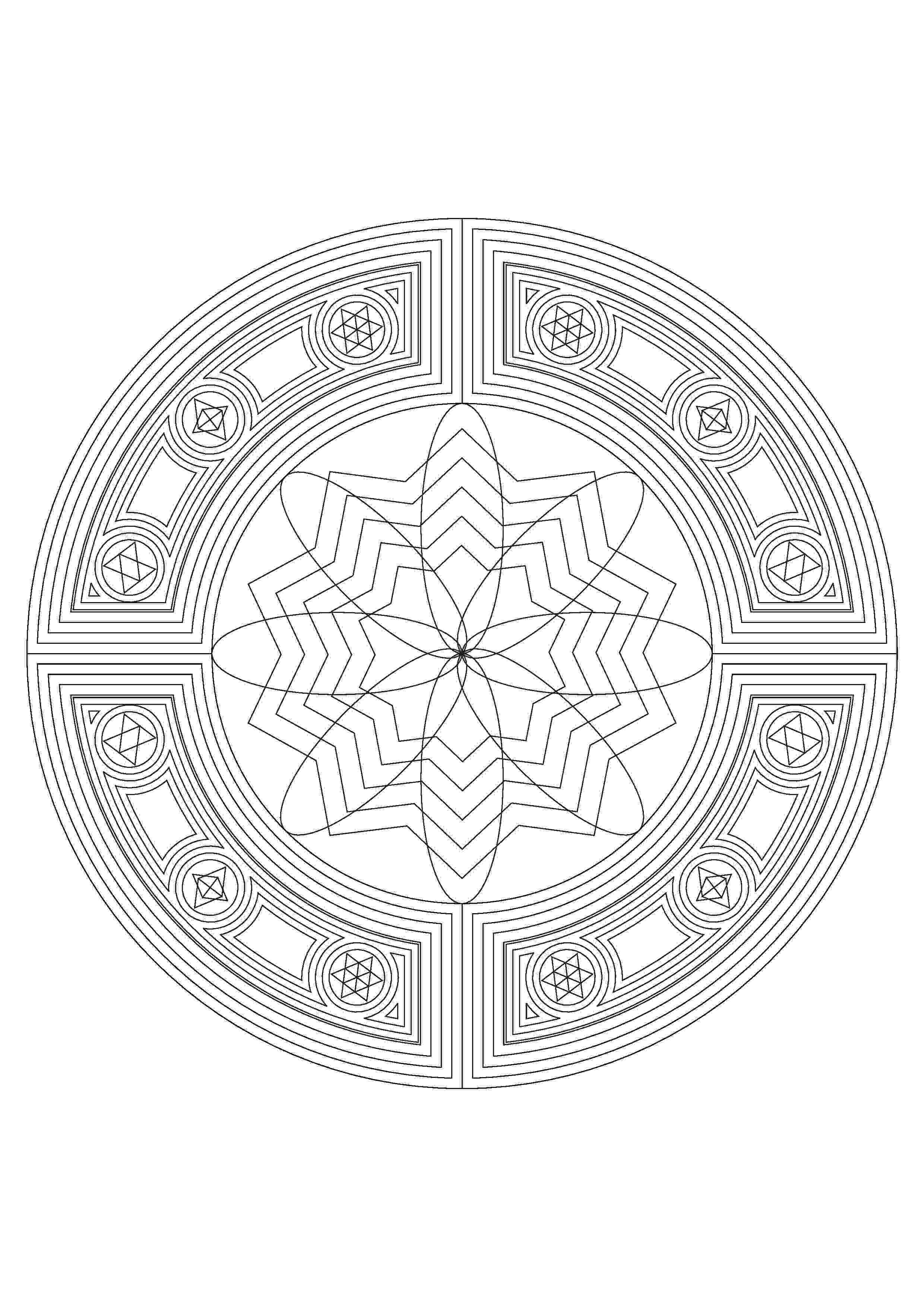 online coloring pages mandalas how to make your own mandala coloring pages for free mandalas pages coloring online
