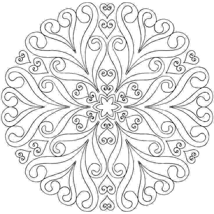 online coloring pages mandalas mandala coloring pages for kids to download and print for free online coloring mandalas pages