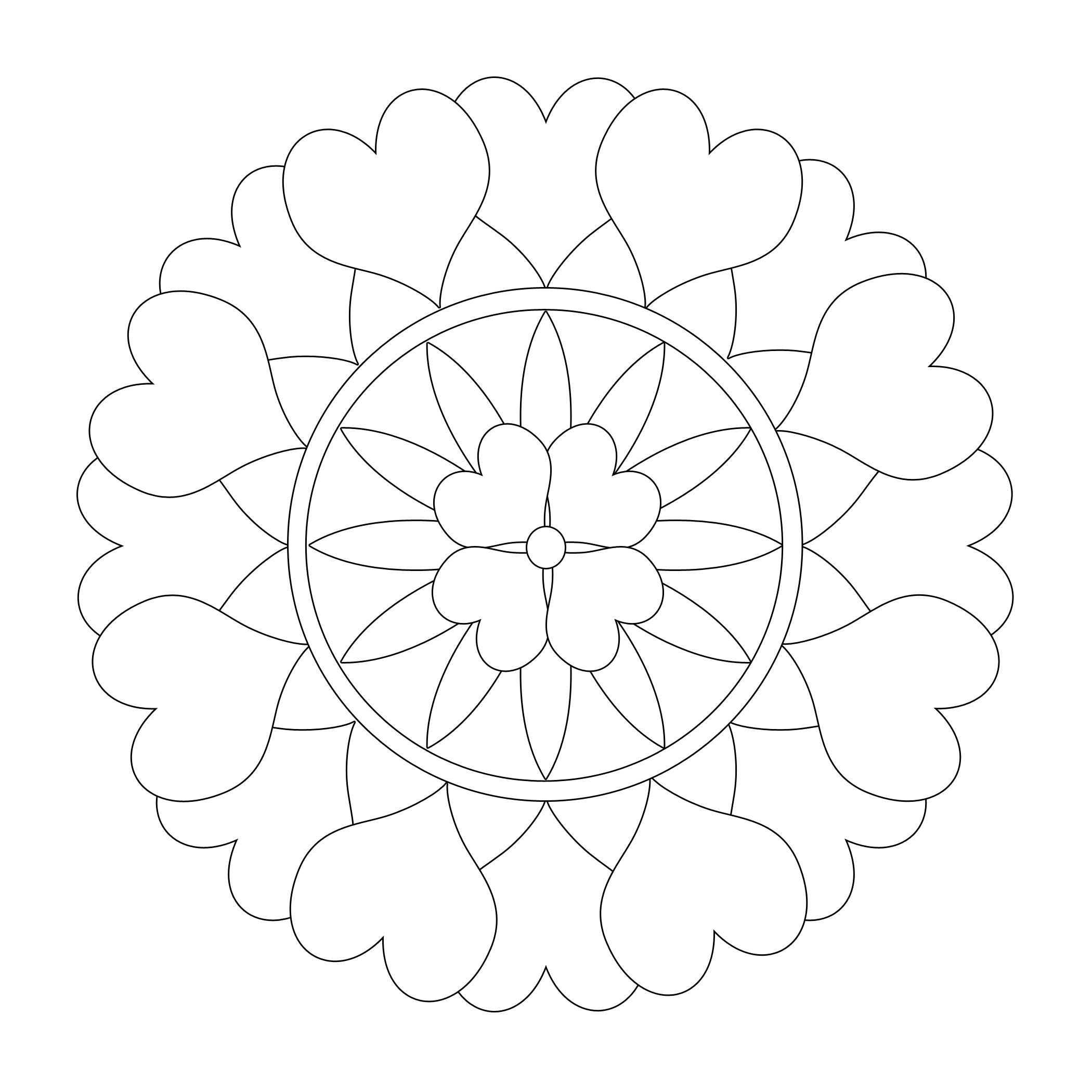 online coloring pages mandalas opal palace mandala coloring page favecraftscom coloring online pages mandalas
