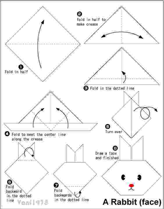 origami dog face instructions pandaface easy origami instructions for kids face dog instructions origami