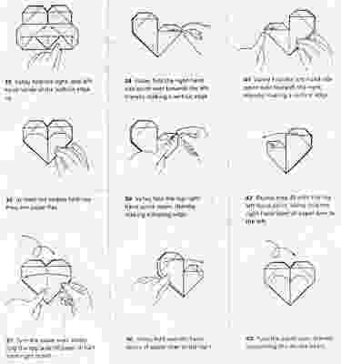 origami heart instructions printable origami heart box diagram embroidery origami instructions printable origami heart