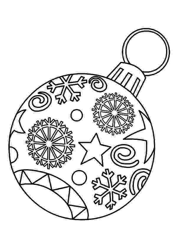 ornaments coloring pages christmas crafts and worksheets for preschooltoddler pages coloring ornaments