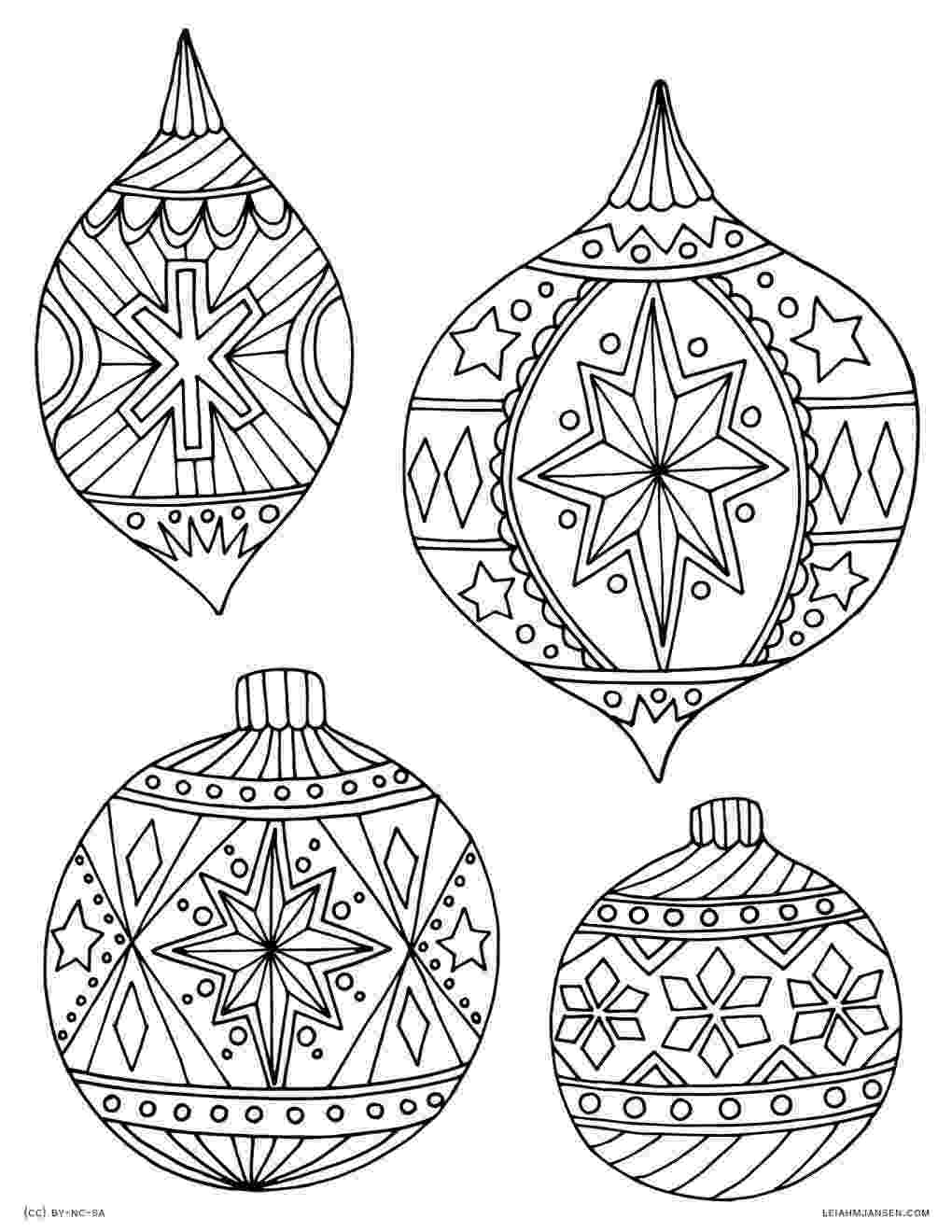 ornaments coloring pages classic glass ornaments coloring page crayolacom coloring pages ornaments