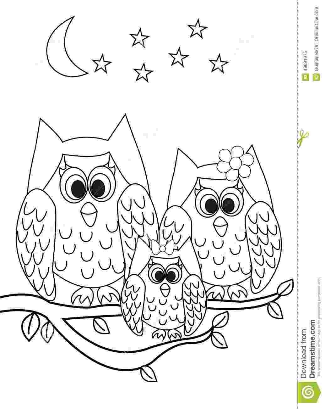 owl cartoon coloring pages baby owl coloring pages getcoloringpagescom pages coloring owl cartoon