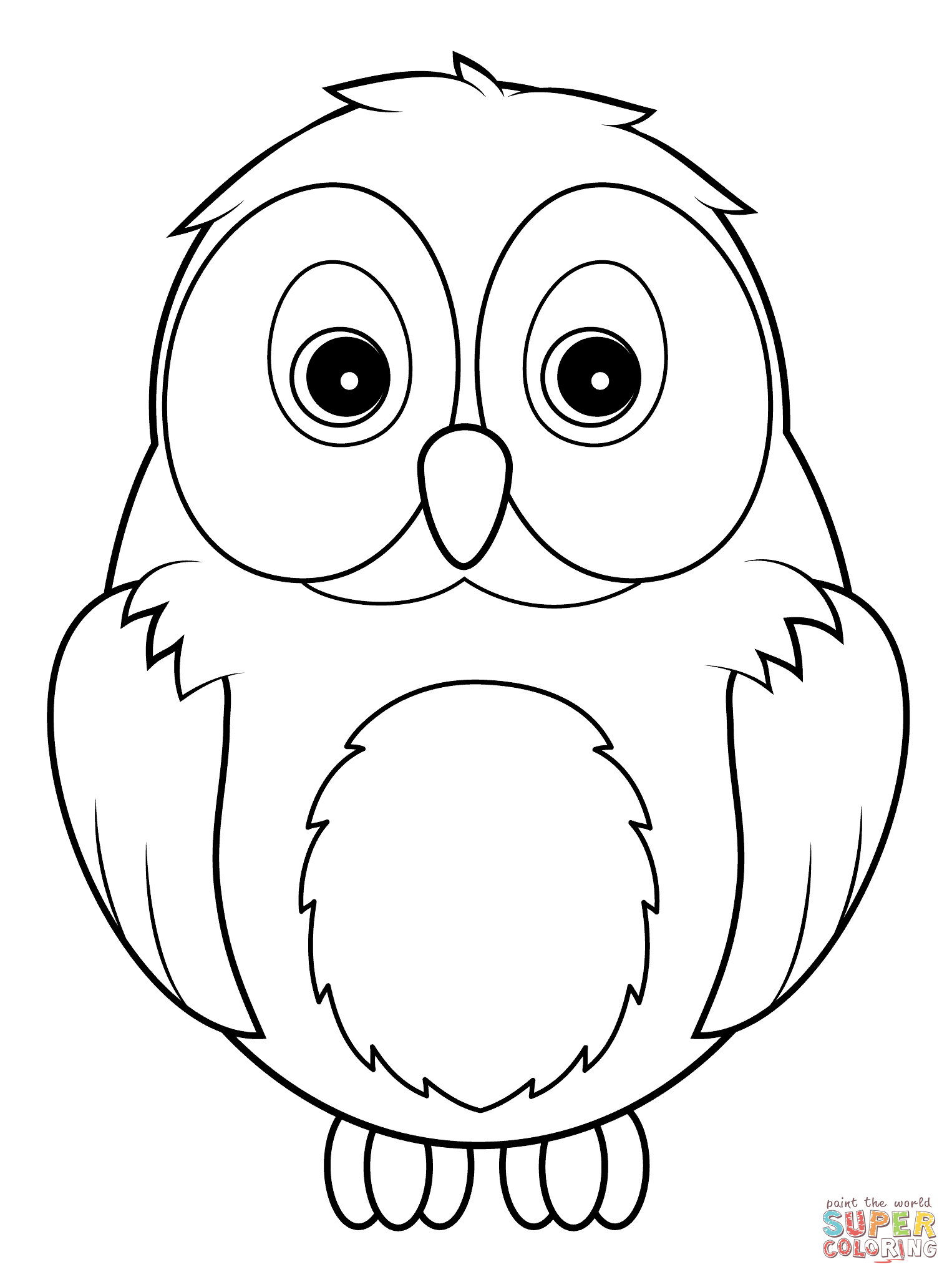 owl cartoon coloring pages cutest cartoon owl coloring page free printable coloring owl pages cartoon coloring