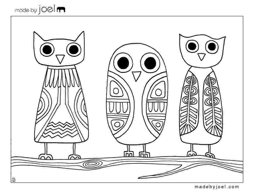 owl color page owl coloring pages for adults free detailed owl coloring color owl page