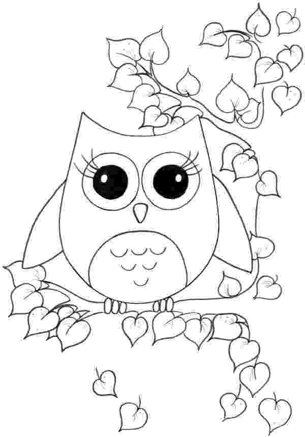 owl coloring pages for kids coloring pages coloring kids owl pages for