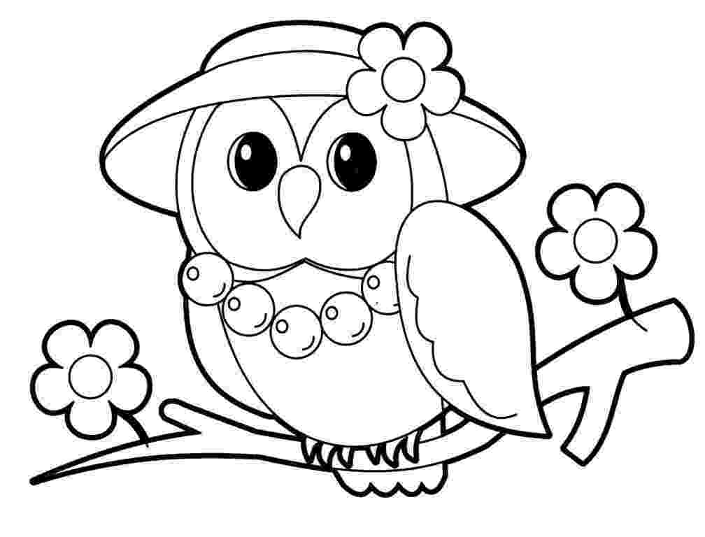 owl coloring pages for kids cute owl coloring page free printable coloring pages pages for owl kids coloring