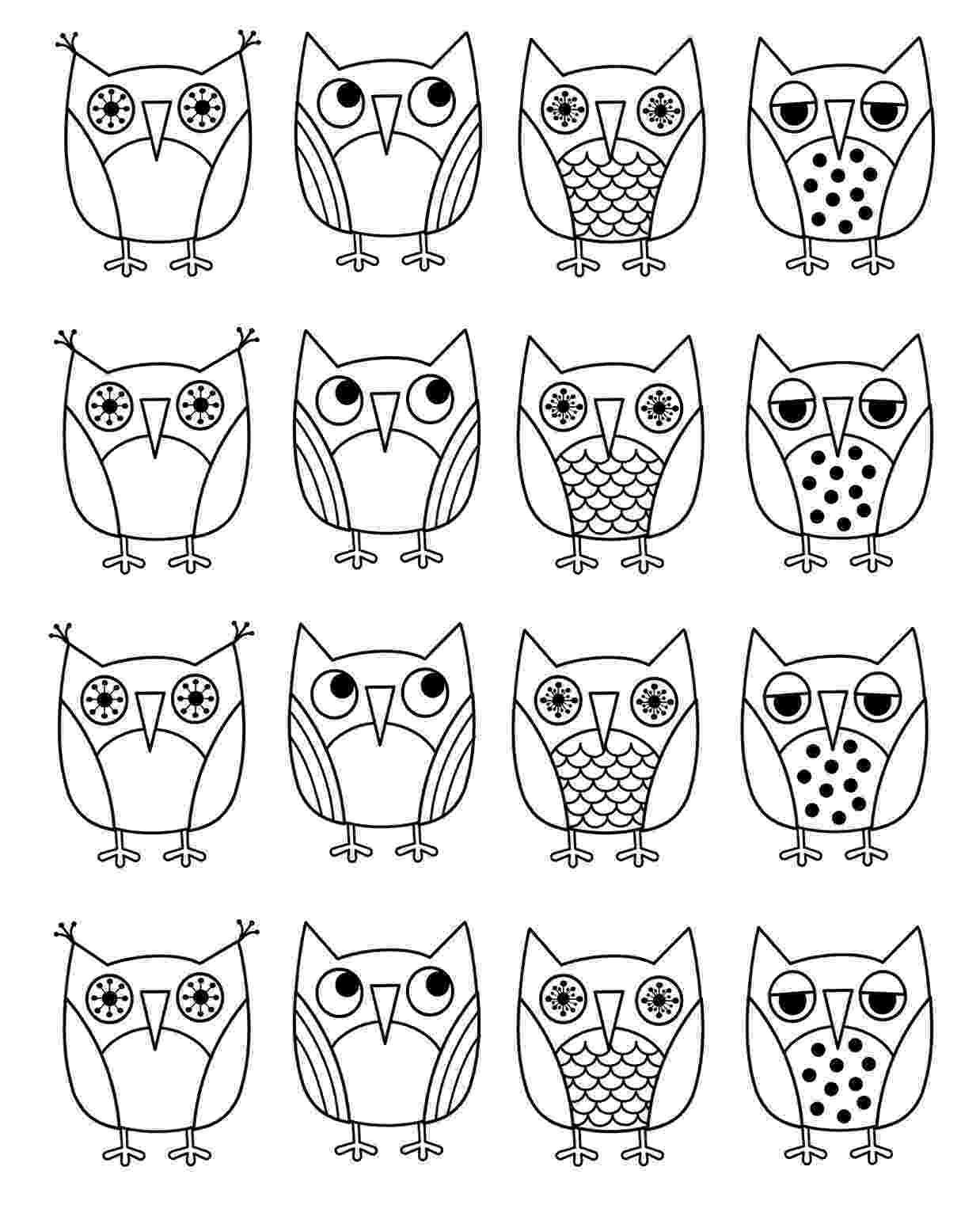 owl coloring pages for kids print download owl coloring pages for your kids kids coloring pages owl for