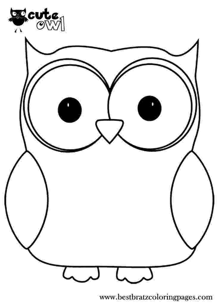 owl picture to color cute owl coloring page free printable coloring pages owl to color picture