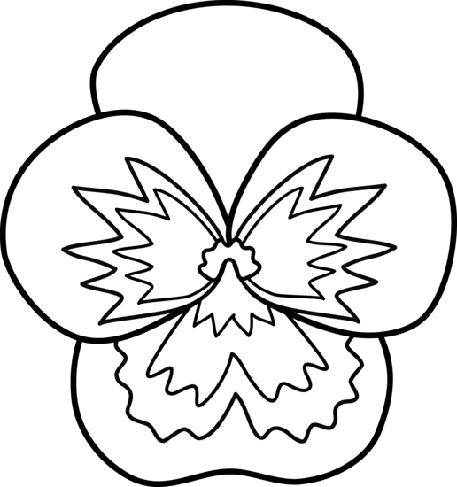 pansy coloring page pansies coloring pages coloring pages to download and print page pansy coloring