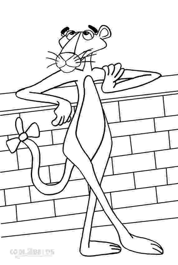 panther coloring page pink panther cartoon coloring pages download and print for panther coloring page