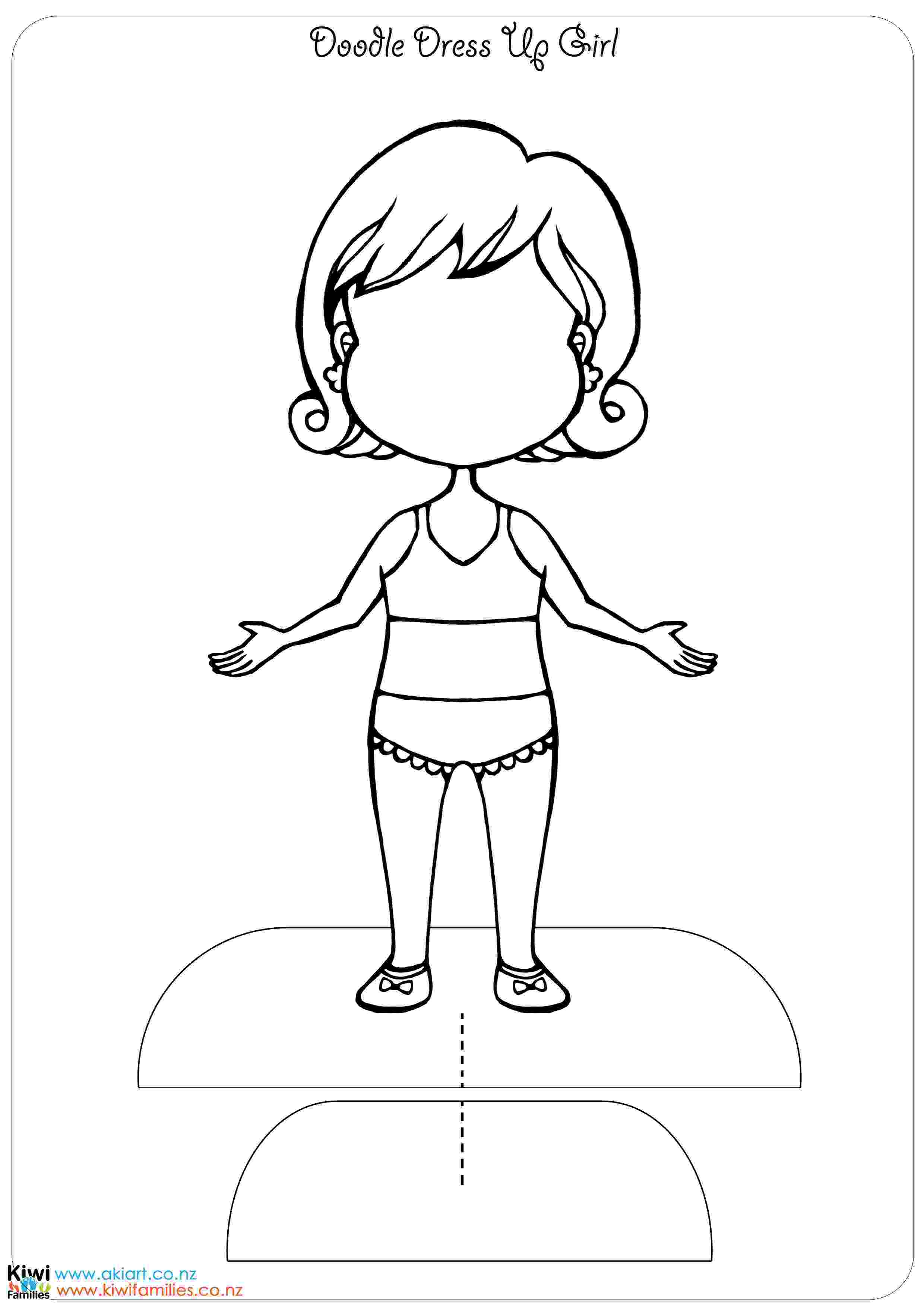 paper dress up doll make your own paper dolls kiwi families paper dress up doll 1 1