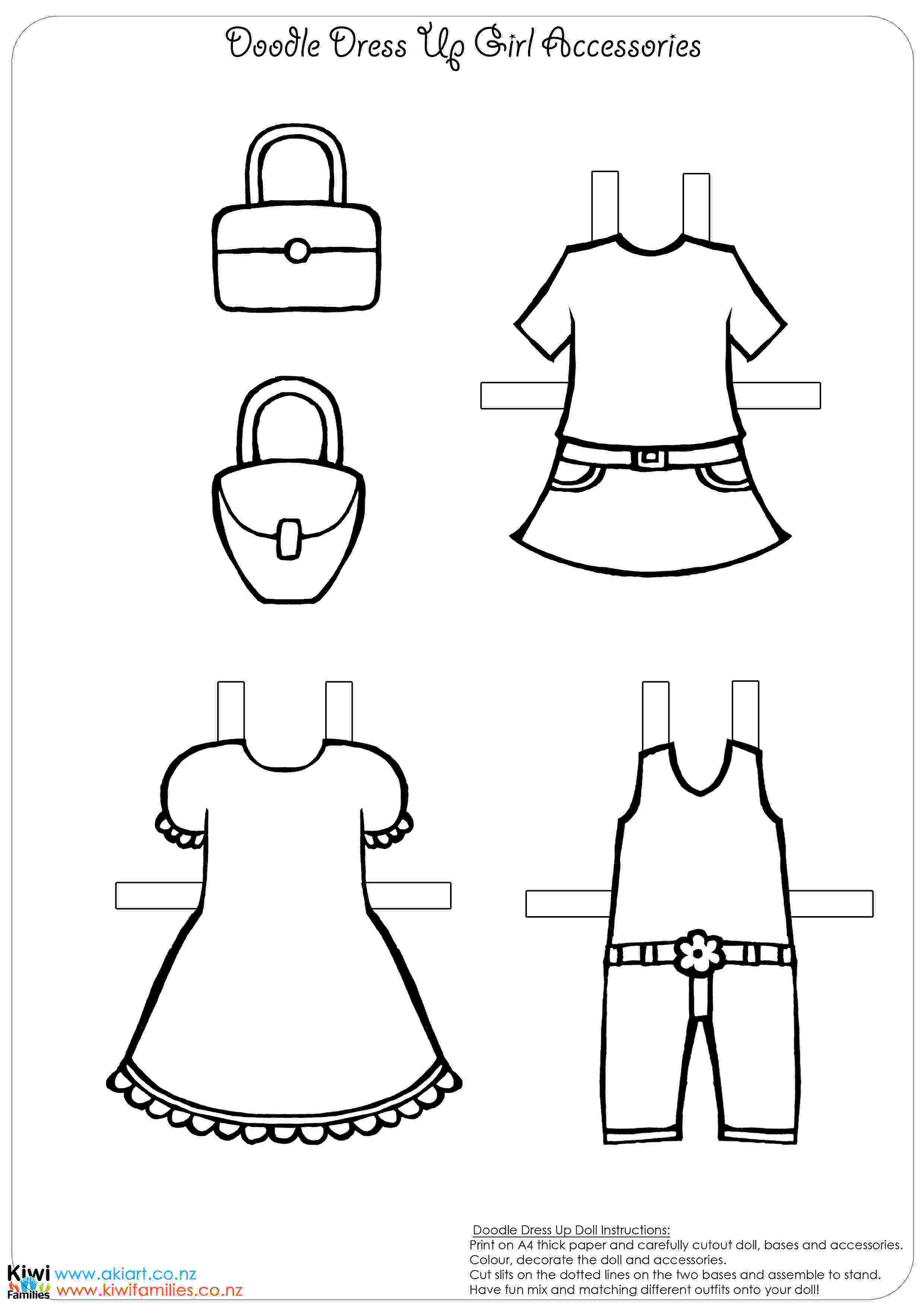 paper dress up doll make your own paper dolls kiwi families up doll dress paper
