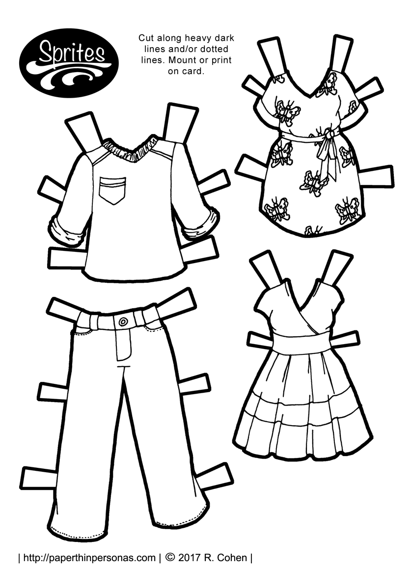 paper dress up doll school uniform paper dolls use for dressing up with doll up dress paper