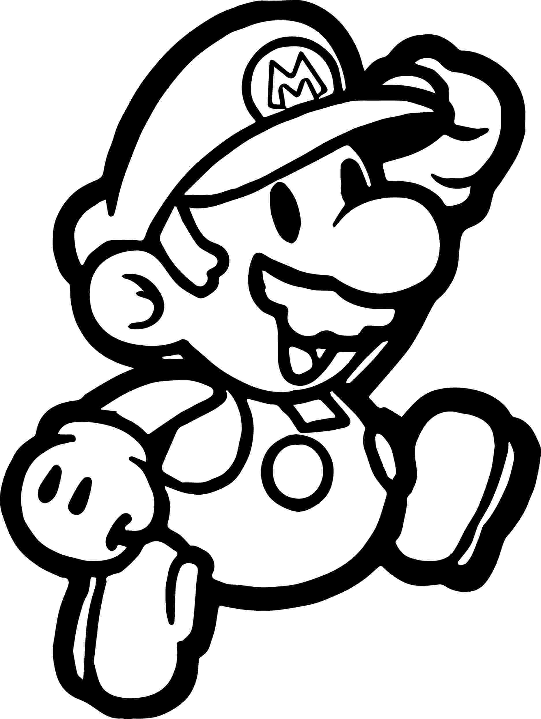 paper mario coloring page paper mario and luigi coloring page free printable mario page paper coloring