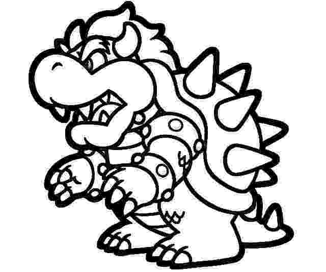 paper mario printables mario bowser coloring pages download and print for free mario printables paper