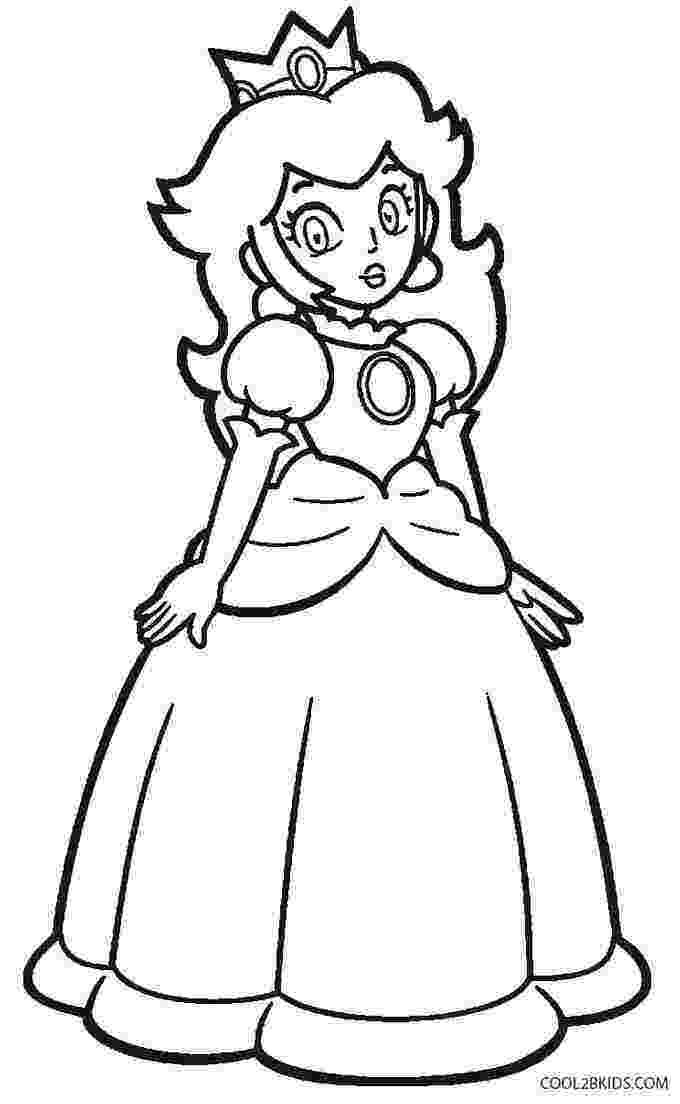 paper princess peach mario princess peach coloring page free printable princess peach paper