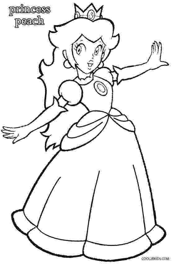 paper princess peach printable princess peach coloring pages for kids cool2bkids paper princess peach