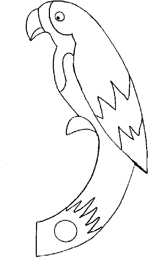 parrot printable free printable parrot coloring pages for kids animal place parrot printable