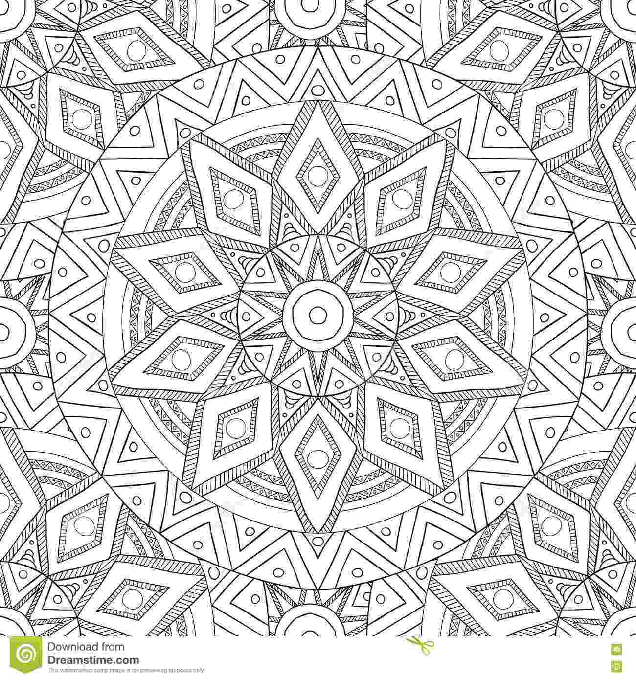 pattern coloring pages for adults coloring pages for adultsdecorative hand drawn doodle adults for pattern coloring pages