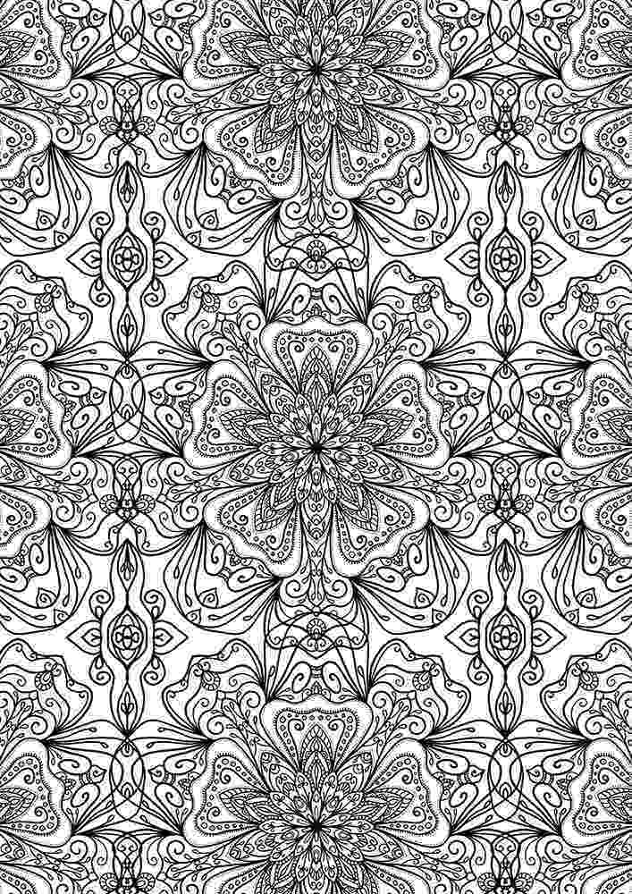 pattern coloring pages for adults free coloring pages printables a girl and a glue gun for adults pages pattern coloring