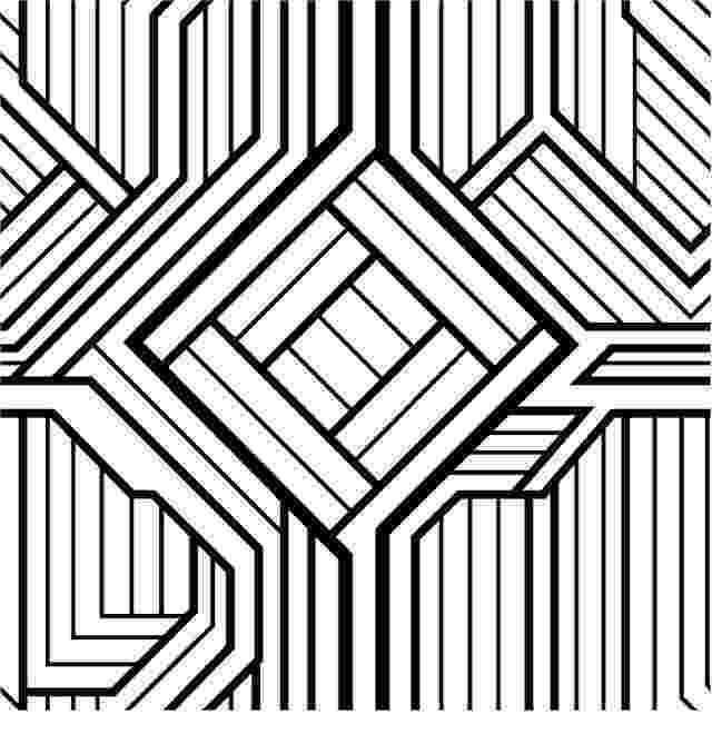 pattern coloring pages for adults free printable geometric coloring pages for adults coloring adults for pattern pages