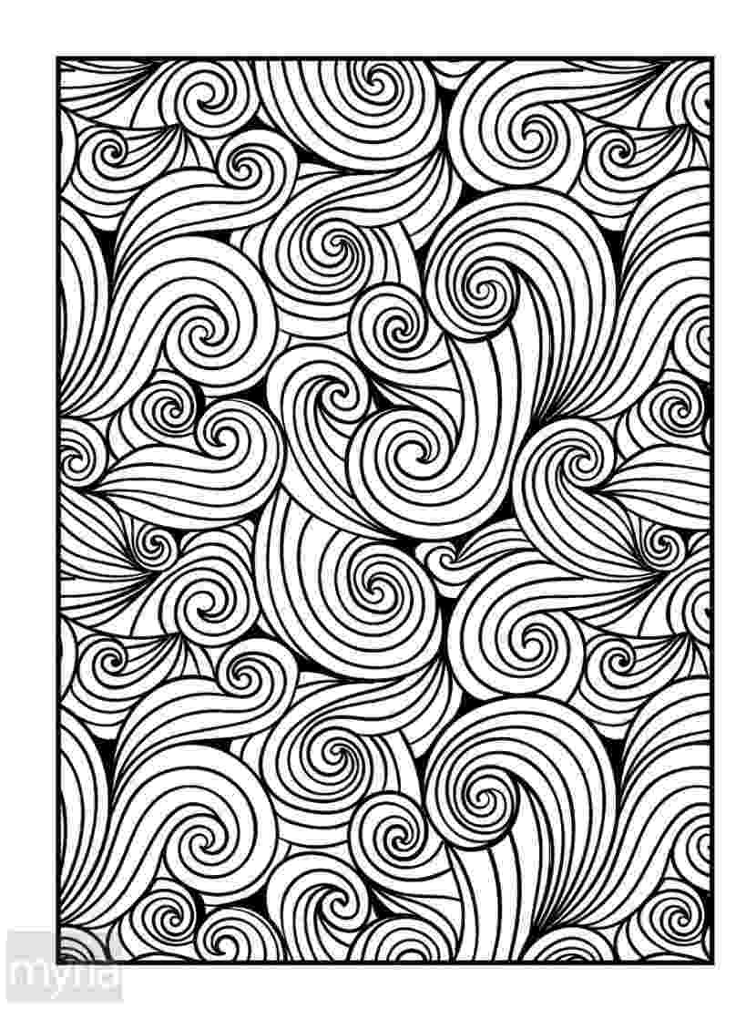 pattern coloring pages for adults large print adult coloring book 4 big beautiful pages adults coloring for pattern