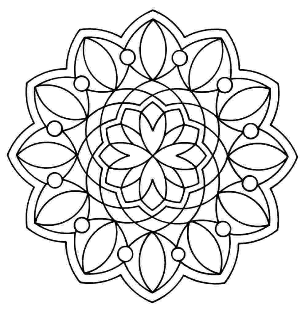 pattern to colour free printable geometric coloring pages for kids colour to pattern