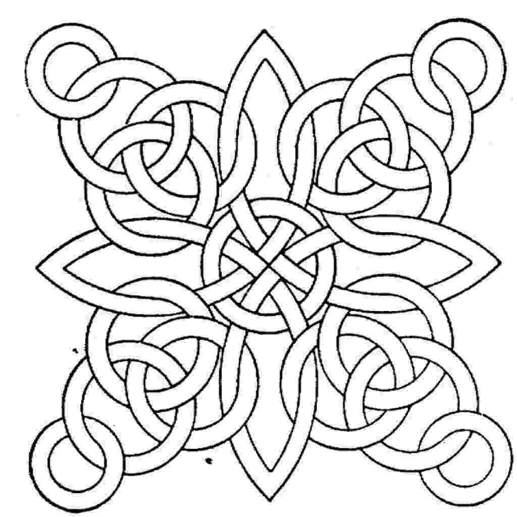 pattern to colour free printable geometric coloring pages for kids to pattern colour