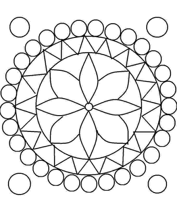 pattern to colour free printable rangoli coloring pages for kids rangoli pattern colour to
