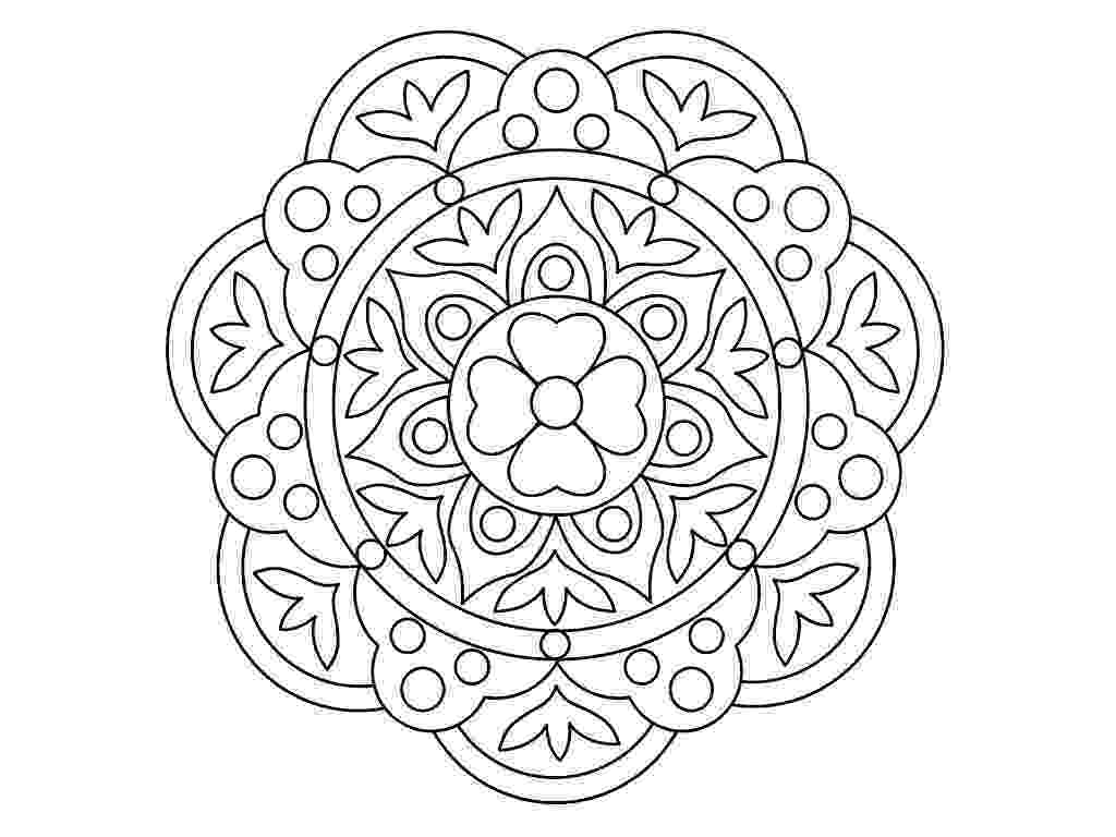 pattern to colour rangoli coloring pages to download and print for free to pattern colour