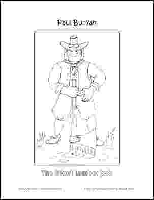 paul bunyan coloring page paul bunyan drawing at getdrawings free download bunyan coloring page paul