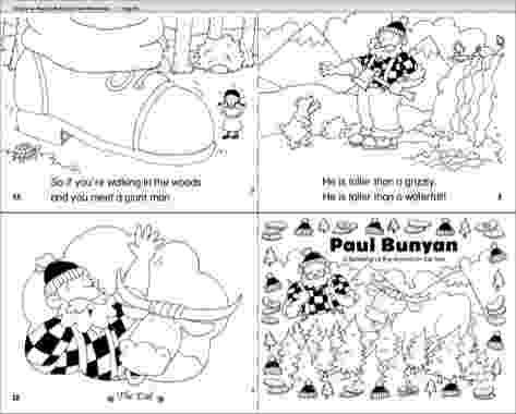 paul bunyan coloring page pecos bill coloring page pecos bill fairy tale crafts bunyan paul page coloring