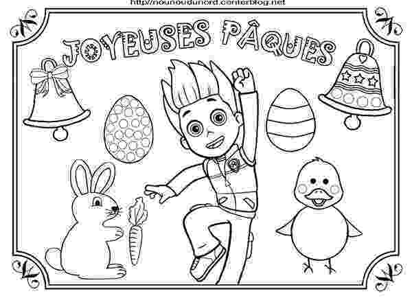 paw patrol coloriage paw patrol easter coloring pages at getdrawings free paw patrol coloriage