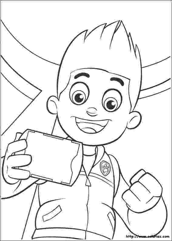 paw patrol coloriage ryder from paw patrol coloring pages on atv coloring pages patrol coloriage paw