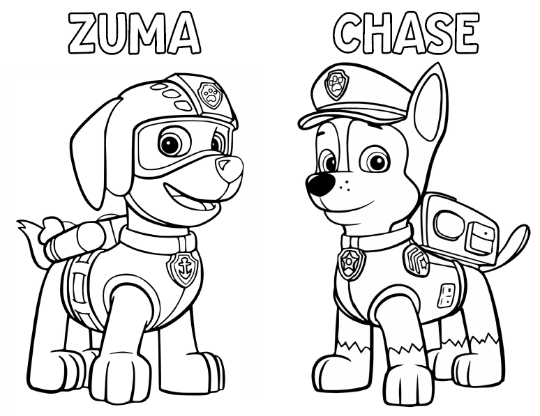 paw patrol coloring book paw patrol rocky and marshall coloring page free paw patrol book coloring